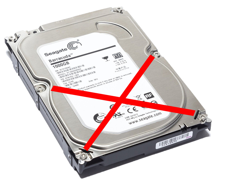 problems with the hard drive seagate ST1000DM003
